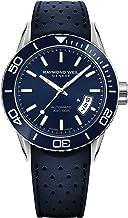 Raymond Weil Men's 2760-SR3-50001 Freelancer Analog Display Swiss Automatic Blue Watch