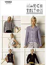Vogue Patterns V8982B50 Misses' Jacket and Vest Sewing Template, Size B5 (8-10-12-14-16)
