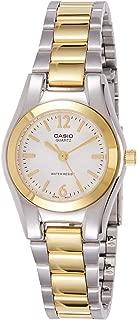 Casio 19373ltp-1253sg-7a Clock–Lady Quartz Bracelet Metallic Dial White