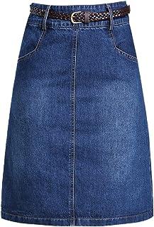 508dfb719dd3d Amazon.fr : jupe jeans - 3XL / Jupes / Femme : Vêtements