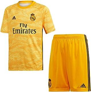 2f9ace4964d adidas Real Madrid Portero Primera Equipación 2019-2020 Niño, Conjunto,  Collegiate Gold