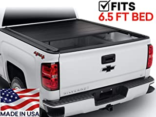 Truck Bed Cover for Ford Superduty 2008-2016 6.5 ft. bed Trident FastTrack Retractable T30362
