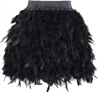 f40c140be Amazon.es: falda de plumas mujer