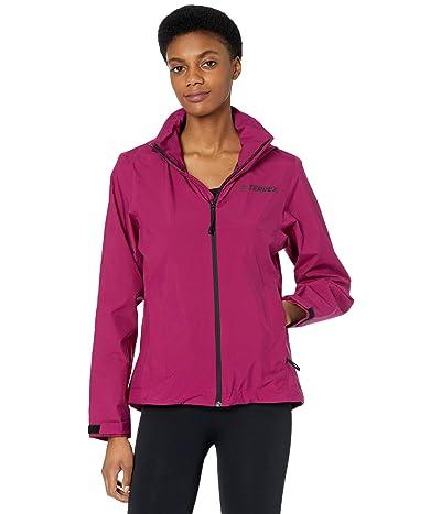 adidas Outdoor Multi RAIN.RDY Jacket (Power Berry) Women