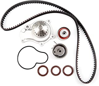 ECCPP Timing Belt Water Pump Kit Fits For 2002-2009 Chrysler Sebring PT Cruiser Voyager Dodge Caravan Stratus Jeep Wrangler Liberty 2.4L L4 DOHC