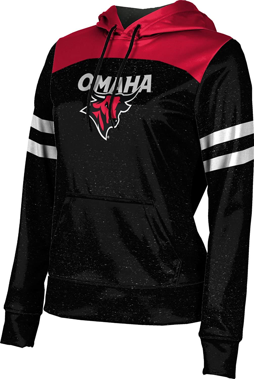 ProSphere University of Nebraska at Omaha Girls' Pullover Hoodie, School Spirit Sweatshirt (Gameday)