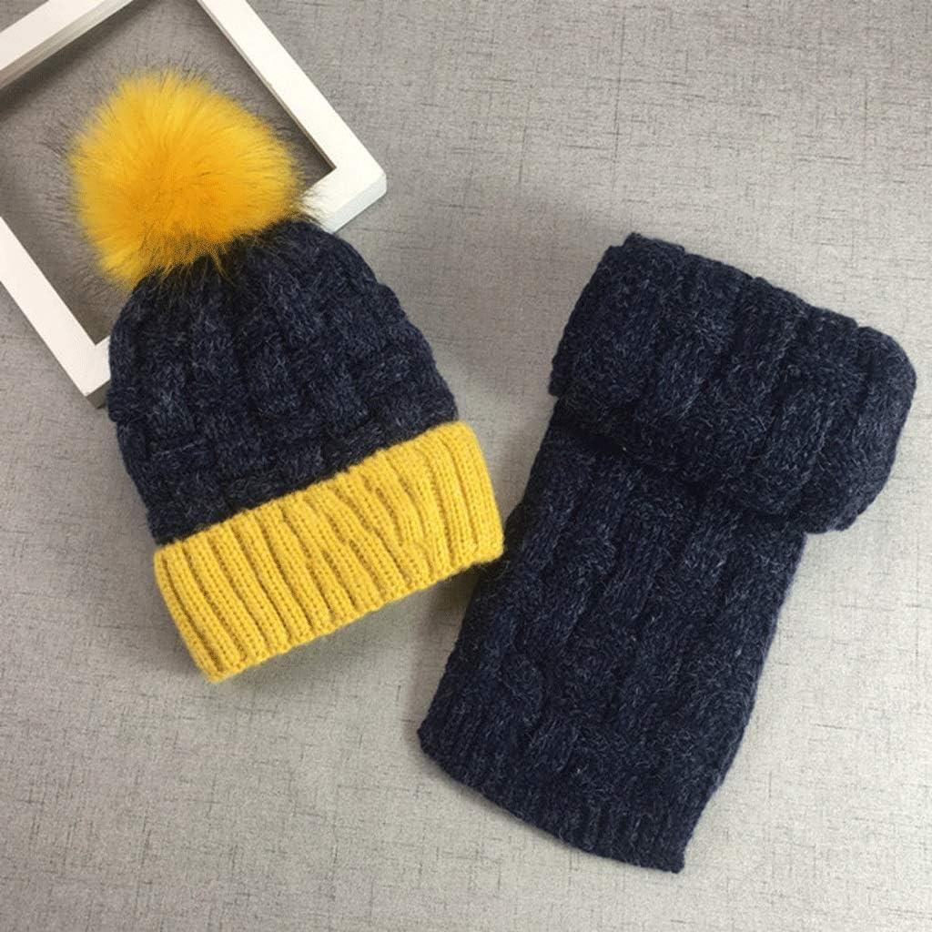 JJSPP Winter Soft Knit Hat Japan Maker New Max 76% OFF Scarf Bean Novelty Set Thickened Kids
