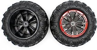 HOSIM RC Car Tires Accessory Spare Parts Wheels 25-ZJ02 for Hosim 9125 RC Car (2 Pcs)