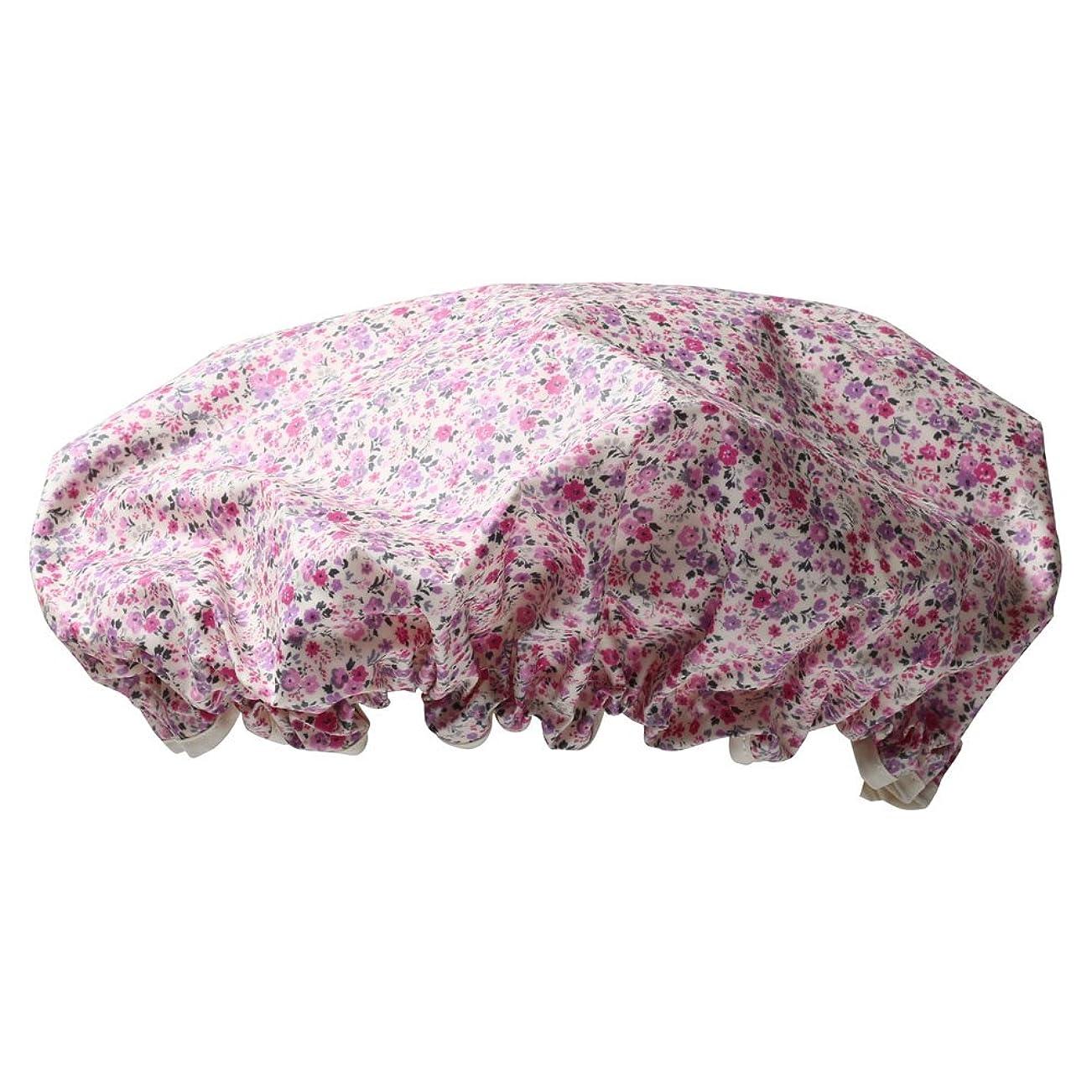 ルビー付録織るシャワーキャップ #6163-3 ピンク