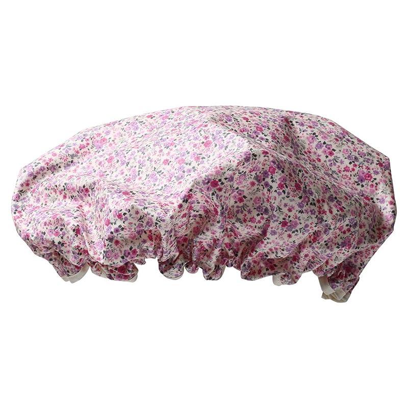 かび臭い実質的に保証金シャワーキャップ #6163-3 ピンク