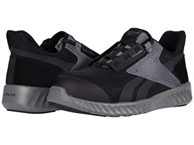 Reebok Work Sublite Legend Comp Toe (Black/Grey) Men