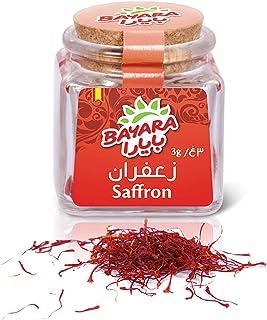 Bayara Saffron Glass Jar, 3 gm