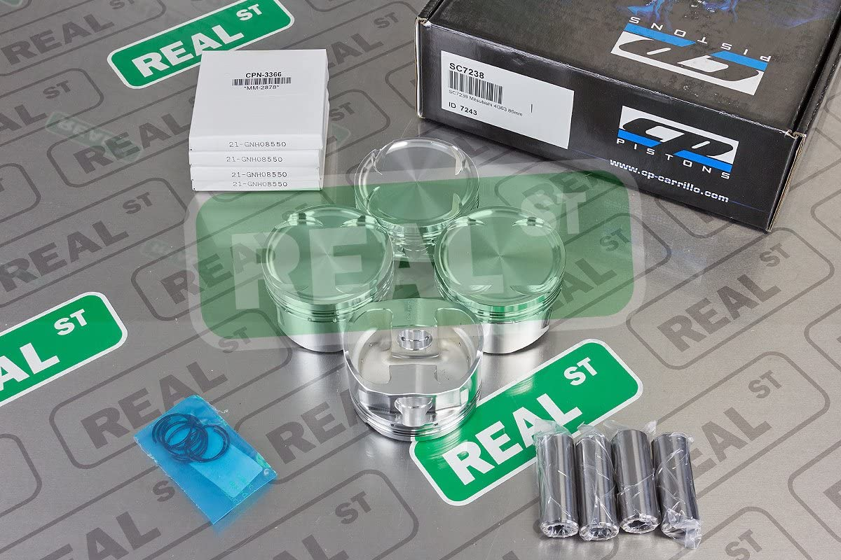 CP Pistons SC7238 Piston All stores are sold and Set Max 60% OFF Ring for Mitsubishi