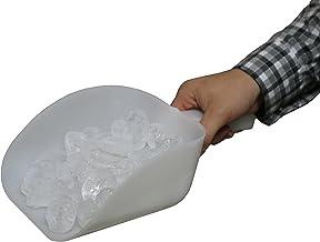 Grande pelle à glace de qualité supérieure - Capacité d'un litre - Convient pour une utilisation dans les cuisines, machin...