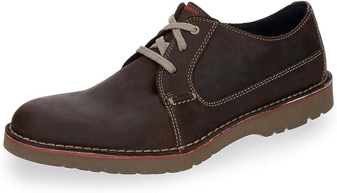 Clarks Vargo Plain, Zapatos de Cordones Derby Hombre