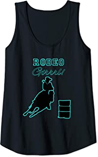 Womens Country Western Rodeo Barrel Racing Horse Tank Top