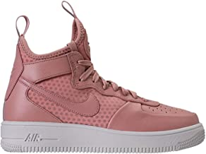 Nike Womens Airforce 1 Ultraforce Hight Top Lace Up Fashion, Pink, Size 7.0
