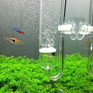 Yagote CO2 Glass Aquarium Supply Accessories, CO2 Diffuser CO2 Drop Checker CO2 Bubble..