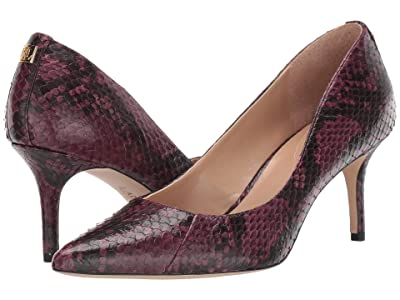 LAUREN Ralph Lauren Lanette (Dark Berry/Black) Women