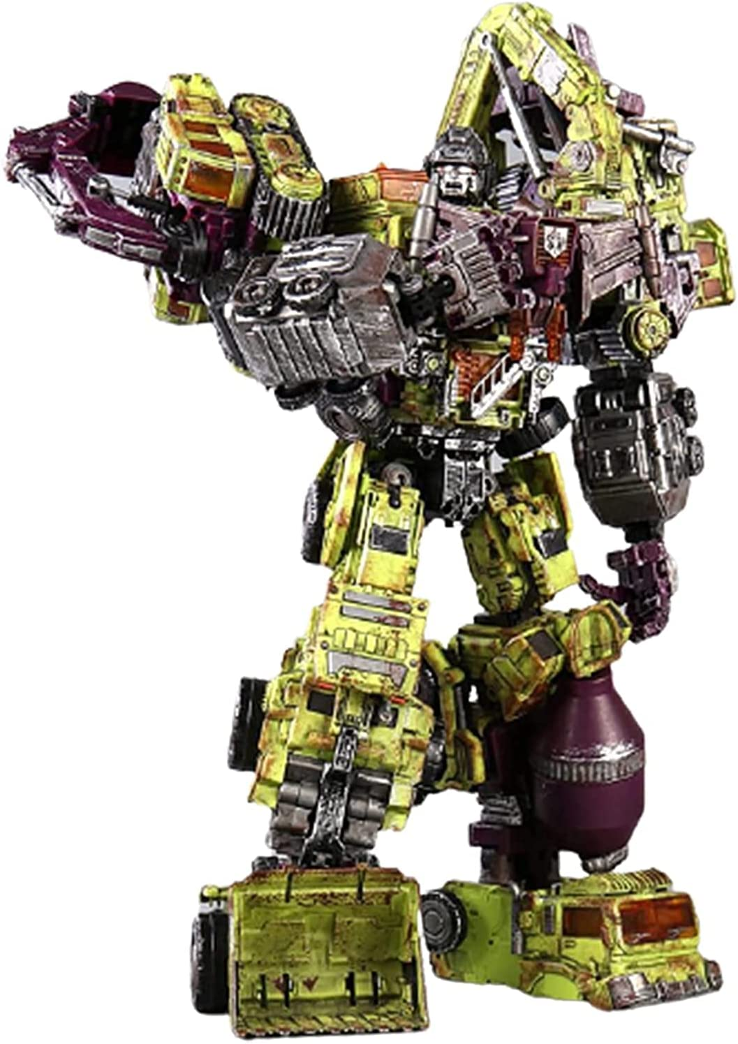 Genuine RSVPhandcrafted Trǎnsformérs Robot Toy KO Large Transfo Seattle Mall 6-in-1