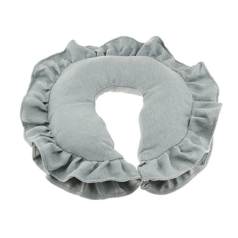 先例スチュアート島超えるD DOLITY マッサージピロー ネックピロー 顔枕 U字型 洗えるカバー 柔軟性 快適 全4色 - 緑
