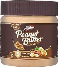 Alpino Classic Peanut Butter Smooth 250 G (Gluten Free / Non-GMO / Vegan)