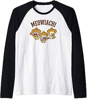 Funny Cat Raglan T-shirt -