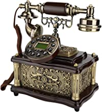 $30 » Sanpyl Retro Landline Telephone, Vintage Desktop Phone European Style Phone with Caller ID Display for Home/Hotel/Office I...