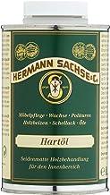 Hermann Sachse Holzöl Arbeitsplatten-Öl farblos 500ml Hartöl zur wirkungsvollen Erst und Nachbehandlung von Holz Möbel Esstisch im Innen-Bereich