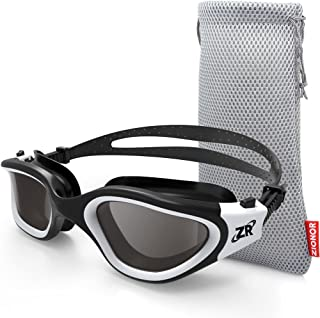 Zionor Swimming Goggles, G1 Polarized Swim Goggles UV...