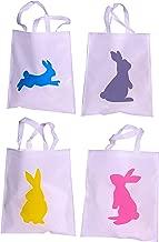 Funiverse Bulk 24 Pack Bunny Tote Bag Assortment 15