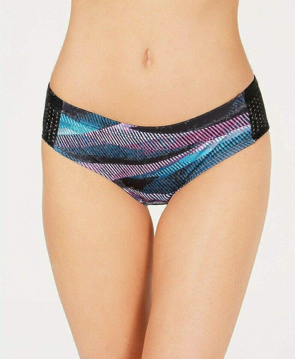 Nike Line Up Mesh Sides Hipster Bikini Bottom (Laser Fuchsia