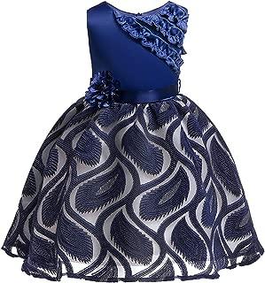Flower Girls Dress Kids Dresses Children Evening Party Dress 3 4 5 6 7 8 9 10 Year