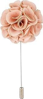 Knighthood البيج Bunch Flower طية صدر السترة دبوس شارة معطف بدلة زفاف هدية حفل طوق إكسسوارات بروش للرجال بيج