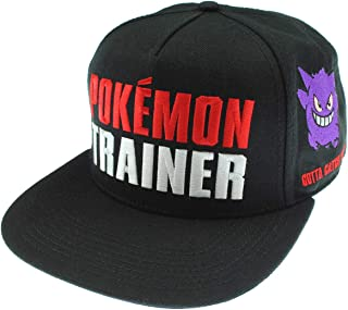 bioWorld Pokemon Trainer Color Omni Snapback Baseball Cap