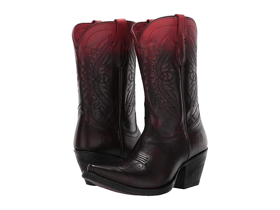 Ariat Circuit Stella (Ombre Red) Cowboy Boots