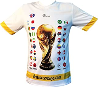 Best russia soccer jersey world cup 2018 Reviews