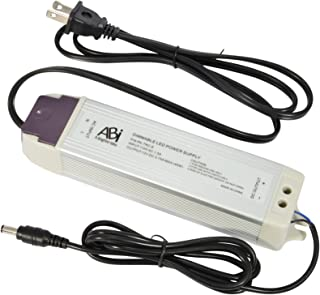 ABI 12V 45W Power Supply Driver TRIAC Dimmable Transformer for LED Flexible Strip Light (Works with Standard Wall Dimmers)