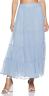 AND Synthetic a-line Skirt
