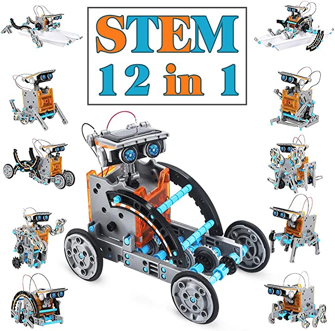 823 opinioni per Dreamy Cubby Boy Toys 8-12 Year Old STEM Robot Science Kit 12-in-1 Education