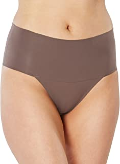 SPANX Women's Undie-Tectable Thong, Umber Ash, Medium