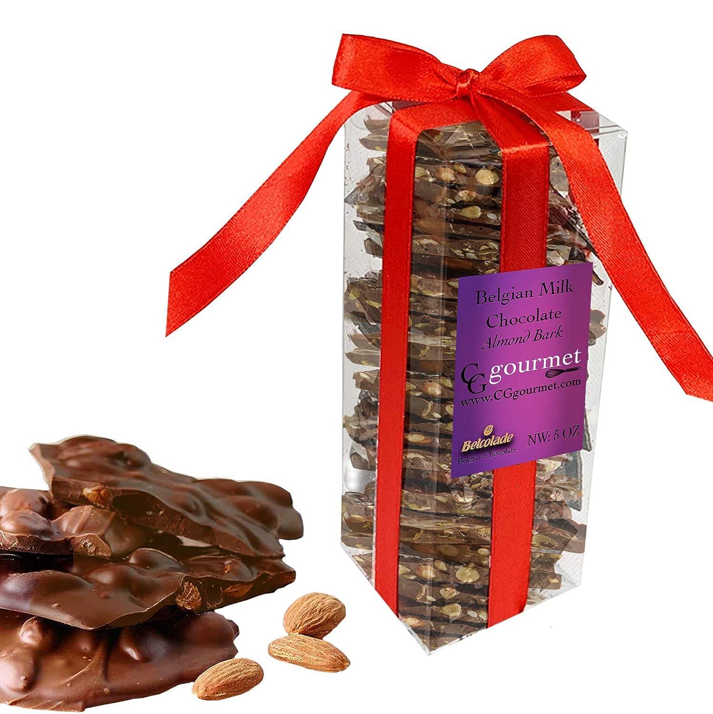 Belgian MILK Chocolate Salted Almond San Francisco Mall Gift Box Excellence Bark