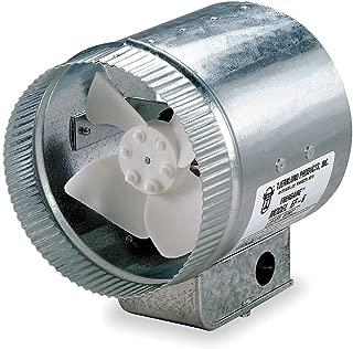 Tjernlund EF-10 Duct Booster Fan, 475 CFM, 10