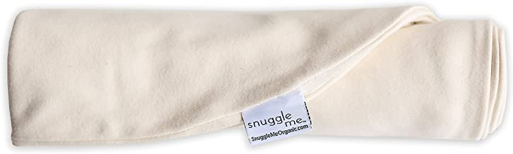 Extra Cover: Snuggle Me Cosleeping Infant Lounger. Organic Cotton. Ivory.
