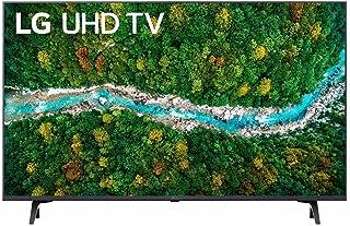 تليفزيون سمارت 43 بوصة 4K الترا اتش دي بتقنية المدى الديناميكي العالي وتقنية ThinQ AI ونظام تشغيل WebOS من ال جي - 43UP775...