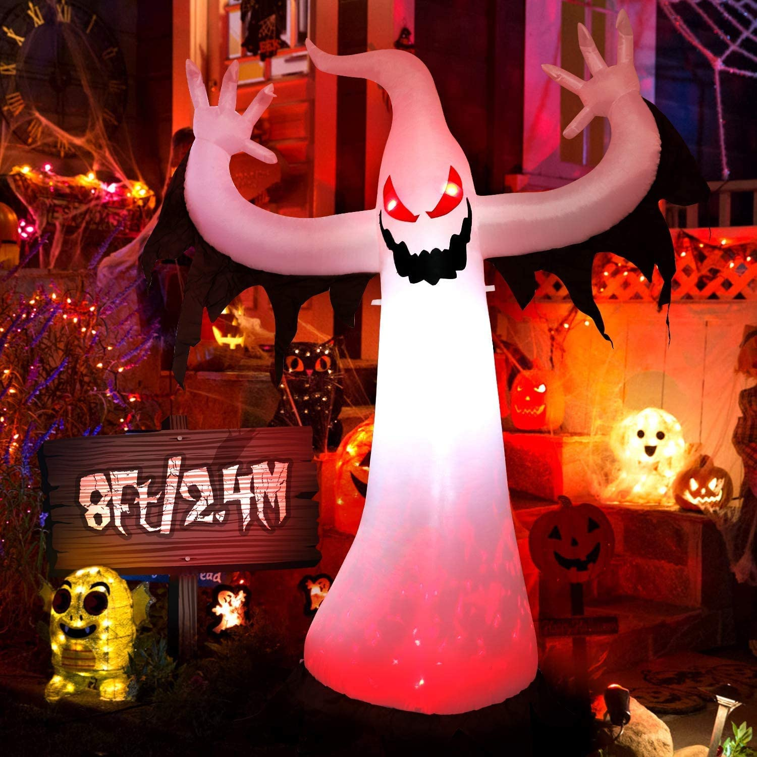 WEWILL Halloween Inflatables Haunter Max Max 46% OFF 44% OFF Decorations Ghost