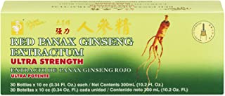 Prince of Peace Red Panax Ginseng Extractum Ultra Strength, 30 count (Pack of 3)