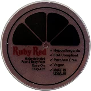 Ruby Red Paint Face Paint, 75ML - Pecan