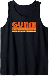Vintage Grunge Style Guam Tank Top