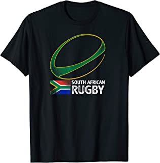 South African Rugby South Africa Flag T-Shirt